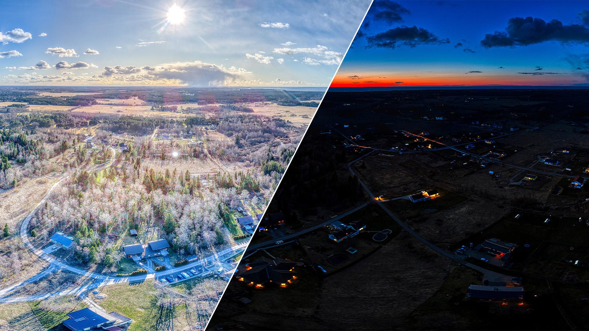 liikva küla virtuaaltuur drooniga