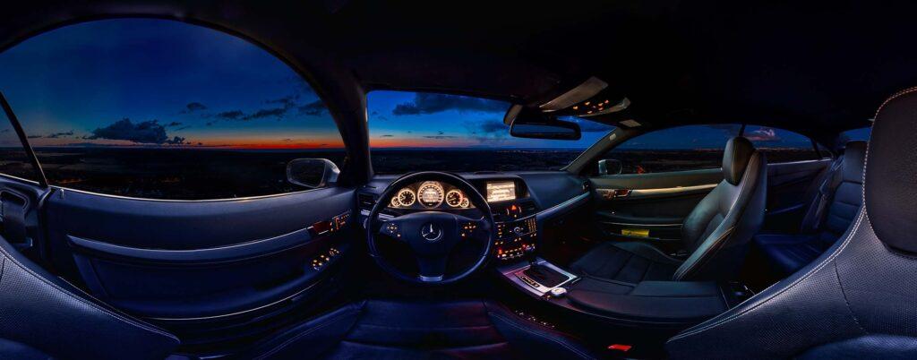 Auto 360 kraadi virtuaaltuur